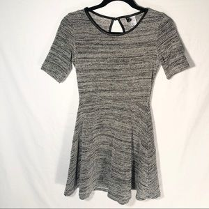 Donating Soon Divided By H&M Grey Skater Dress 4